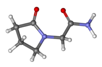 Piracetam_ball-and-stick
