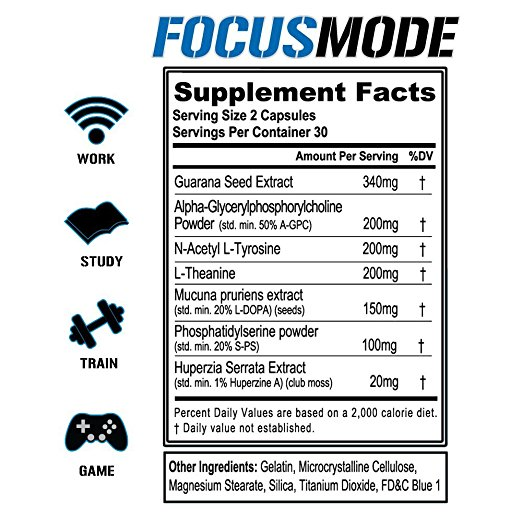 focus mode formula