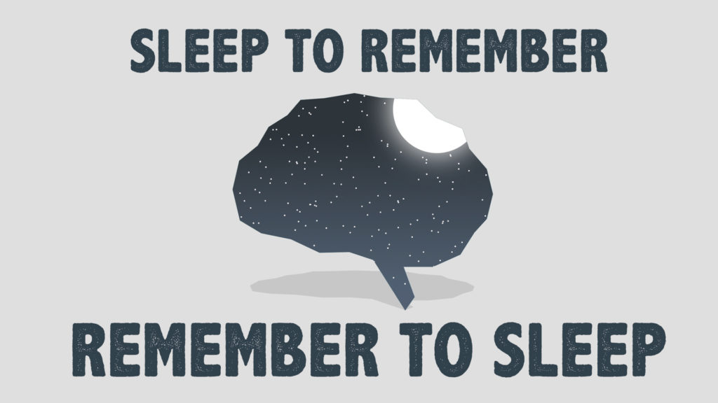 sleep to remember